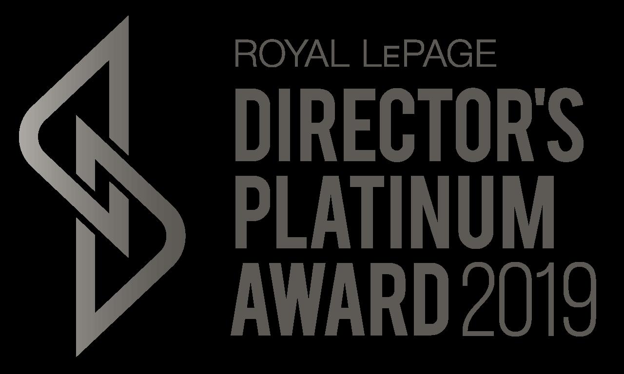 Directors Platinum Award 2019