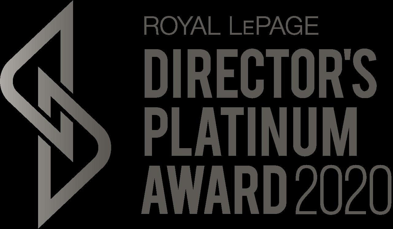 Directors Platinum Award 2020