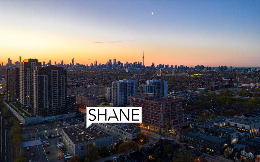 (c) Aerial photos of 40-1444 Dupont St by DroneHub exclusively for SHANE.